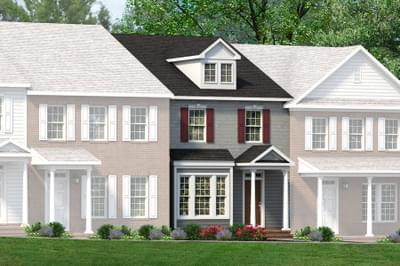 Chesapeake Homes -  The Graham Elevation A