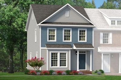 Chesapeake Homes -  The Da Vinci Elevation A