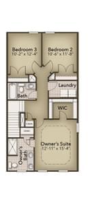 Chesapeake Homes -  The Da Vinci Second Floor