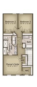 Chesapeake Homes -  The Rockwell Second Floor
