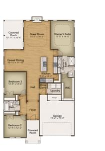 Chesapeake Homes -  The Shorebreak First Floor