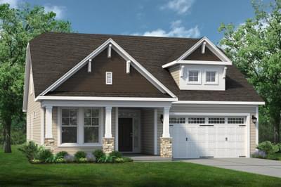 Chesapeake Homes -  The Shorebreak Elevation D
