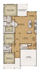Chesapeake Homes -  The Boardwalk First Floor