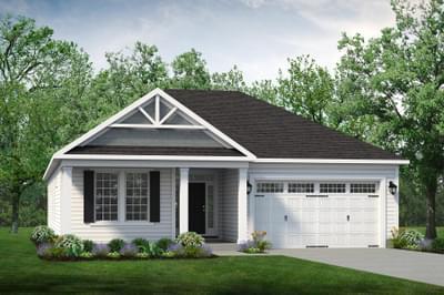 Chesapeake Homes -  The Boardwalk Elevation C