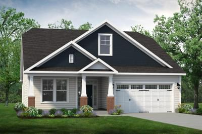 Chesapeake Homes -  The Boardwalk Elevation D