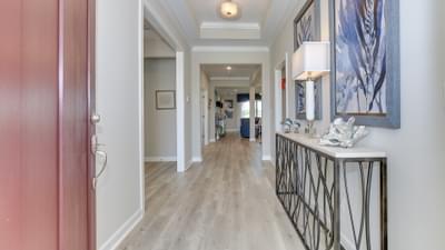 Chesapeake Homes -  17 Ballast Point UNIT 68, Clayton, NC 27520 Foyer