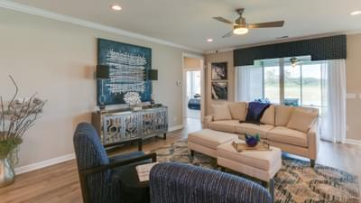 Chesapeake Homes -  17 Ballast Point UNIT 68, Clayton, NC 27520 Great Room