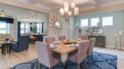 Chesapeake Homes -  17 Ballast Point UNIT 68, Clayton, NC 27520 Dining Room