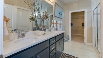 Chesapeake Homes -  17 Ballast Point UNIT 68, Clayton, NC 27520 Owner's Bath