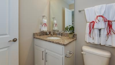 Chesapeake Homes -  17 Ballast Point UNIT 68, Clayton, NC 27520 Upstairs Bath