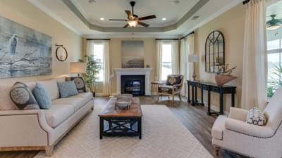 Chesapeake Homes -  297 Ballast Point UNIT 56, Clayton, NC 27520 Great Room