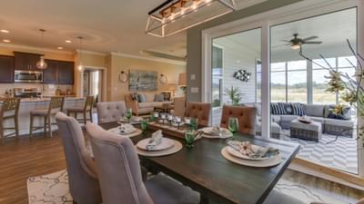Chesapeake Homes -  297 Ballast Point UNIT 56, Clayton, NC 27520 Dining Room
