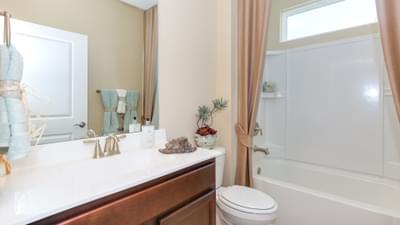 Chesapeake Homes -  297 Ballast Point UNIT 56, Clayton, NC 27520 Downstairs Hall Bath