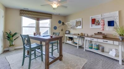 Chesapeake Homes -  297 Ballast Point UNIT 56, Clayton, NC 27520 Bedroom 4