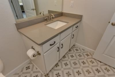 Chesapeake Homes -  The Ivy Full Bath Downstairs