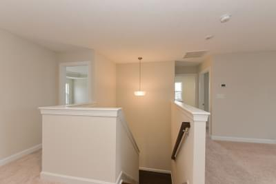 Chesapeake Homes -  The Ivy Upstairs Hall