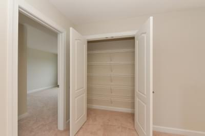 Chesapeake Homes -  The Ivy Upstairs Linen Closet