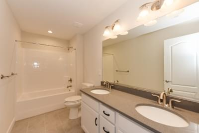 Chesapeake Homes -  The Ivy Full Bathroom Upstairs