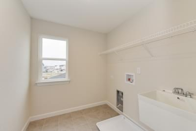 Chesapeake Homes -  The Ivy Laundry Room