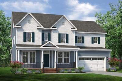 Chesapeake Homes -  The Violet Basement Elevation B
