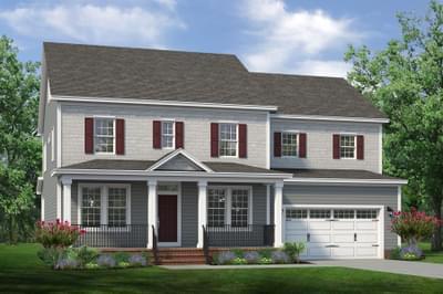 Chesapeake Homes -  The Violet Elevation C