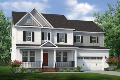 Chesapeake Homes -  The Violet Elevation D