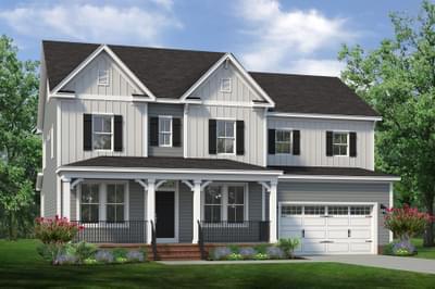 Chesapeake Homes -  The Violet Elevation F