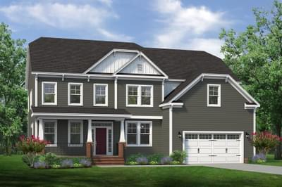 Chesapeake Homes -  The Daisy - Crawl Space Elevation A
