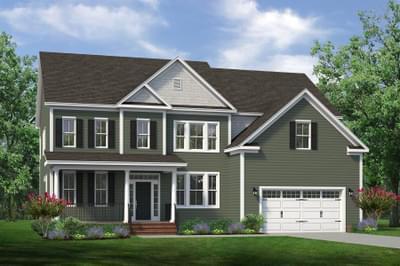 Chesapeake Homes -  The Daisy - Crawl Space Elevation B