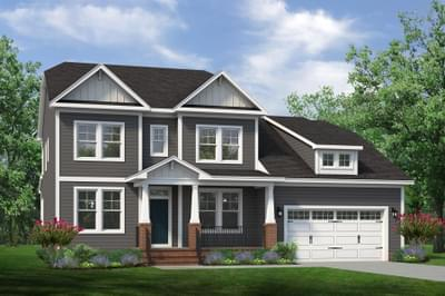 Chesapeake Homes -  The Lilac Elevation A