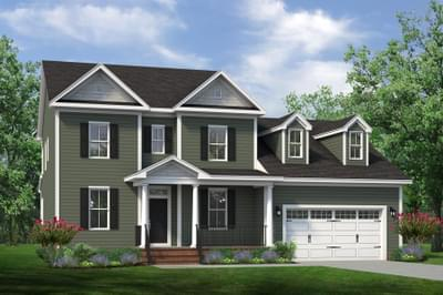 Chesapeake Homes -  The Lilac Elevation B