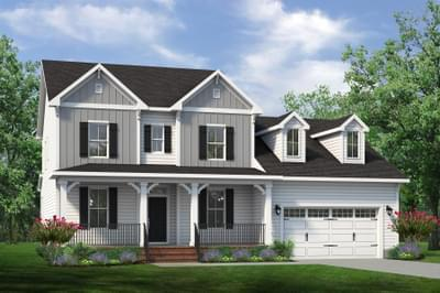 Chesapeake Homes -  The Lilac Elevation F