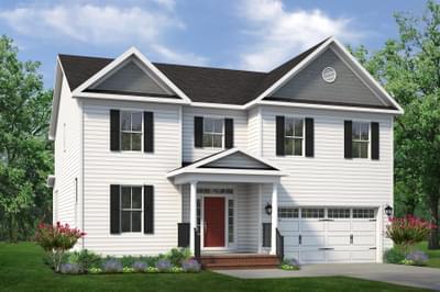 Chesapeake Homes -  The Concerto Basement Elevation B