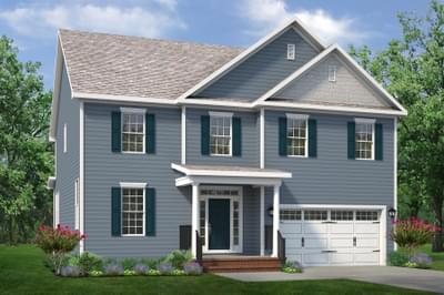 Chesapeake Homes -  The Concerto Basement Elevation C