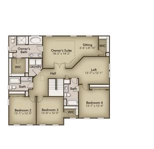 Chesapeake Homes -  142 Preserve Way, Suffolk, VA 23434 Second Floor