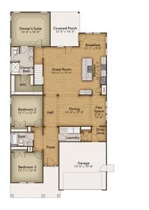 Chesapeake Homes -  145 Preserve Way, Suffolk, VA 23434 First Floor