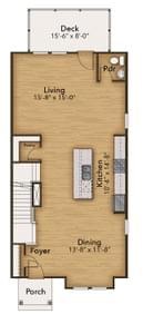 Chesapeake Homes -  The Da Vinci First Floor