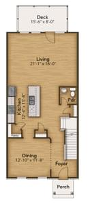 Chesapeake Homes -  The Rockwell First Floor