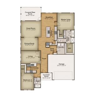Chesapeake Homes -  The Seashore Multi-Gen First Floor