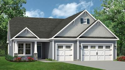 Chesapeake Homes -  The Coral Reef Elevation A