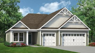 Chesapeake Homes -  The Coral Reef Elevation C