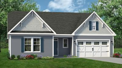 Chesapeake Homes -  The Seashore Elevation A