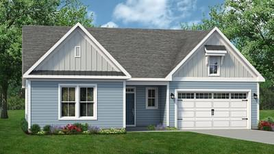 Chesapeake Homes -  The Seashore Elevation B