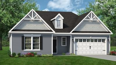 Chesapeake Homes -  The Seashore Elevation C