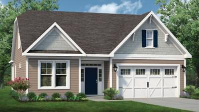 Chesapeake Homes -  The Coastline Elevation A