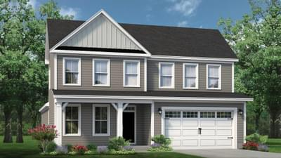 Chesapeake Homes -  The Driftwood Elevation B