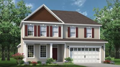 Chesapeake Homes -  The Driftwood Elevation C