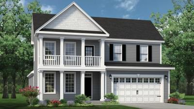 Chesapeake Homes -  The Driftwood Elevation D