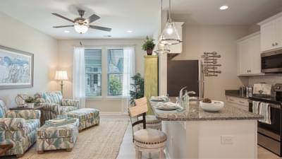 Chesapeake Homes -  The Seashore Multi-Gen Multi Gen Kitchen& Living