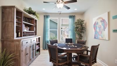 Chesapeake Homes -  The Seashore Multi-Gen Bedroom